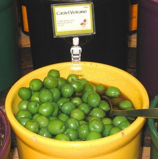 Olives at Whole Foods - San Rafael